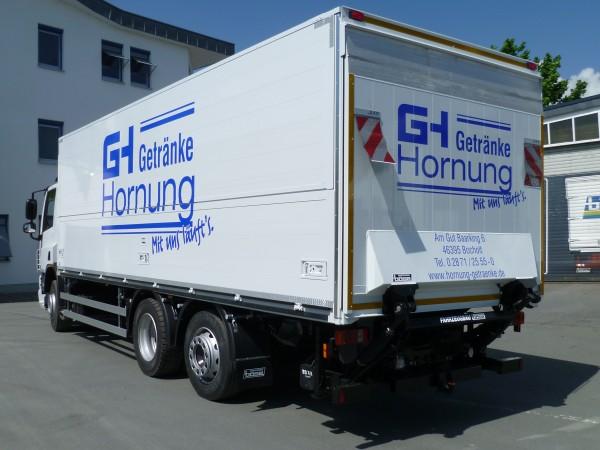 Painting and lettering | Fahrzeugbau Böse